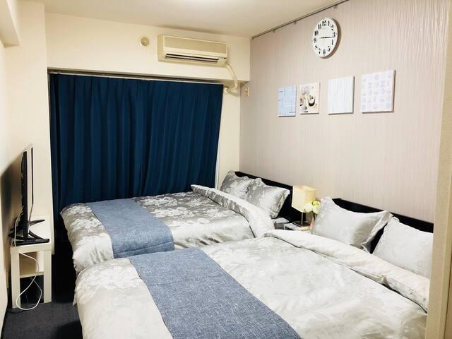 NEW OPEN/丸々一室貸し切り/最寄駅徒歩4分/空港も近い/ホテルのような快適な暮らし/