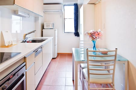 Awesome Central Apartment in Osaka - โอซาก้า