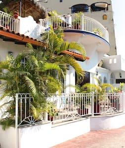 Beachfront Condo @ Conchas Chinas - Puerto Vallarta