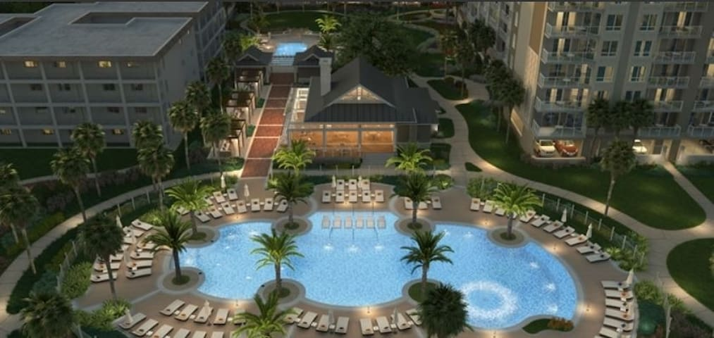 Ocean Oak Resort by Hilton Grand Vacations 2BR 2BA