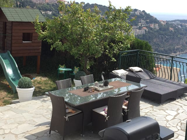 Splendid house with fantastic view near Monaco !! - Roquebrune-Cap-Martin - Hus