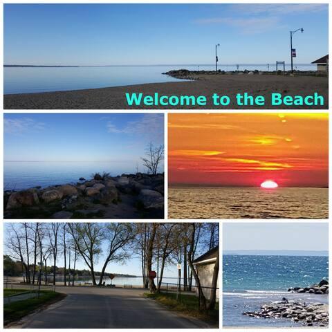 Bay Girls 2 bdrm Cottage - Steps to Balm Beach