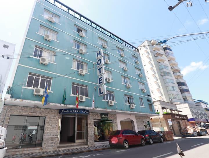 Locação de apartamento - 1 quarto