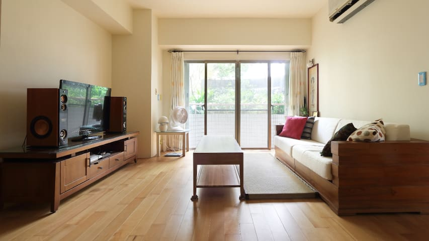 Double private room, Airport pick /send service