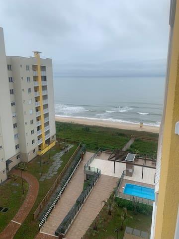 Apartamento completo com Pé na areia!