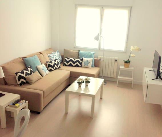 Apartamento 100m de la playa Luanco - Luanco - Wohnung
