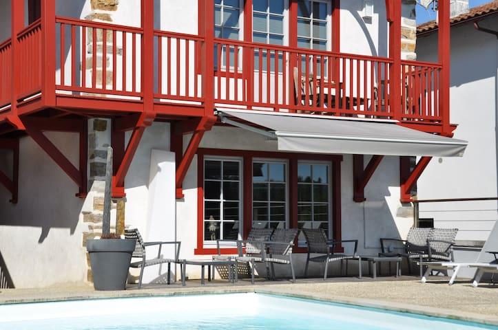 Maison d'hôtes de charme 4 épis - La Bastide-Clairence - Oda + Kahvaltı