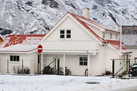 House in center of Aurland