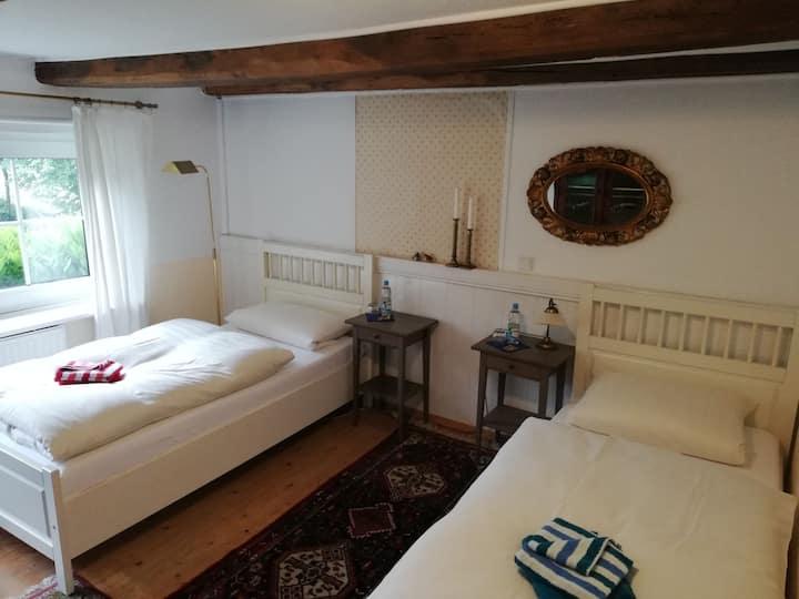 Gästehaus Alte Liebe Zimmer am Kamin