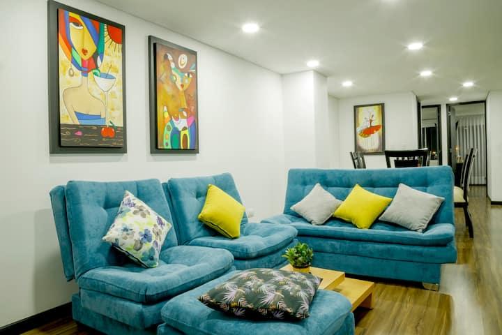 SUITE BLUE HOME