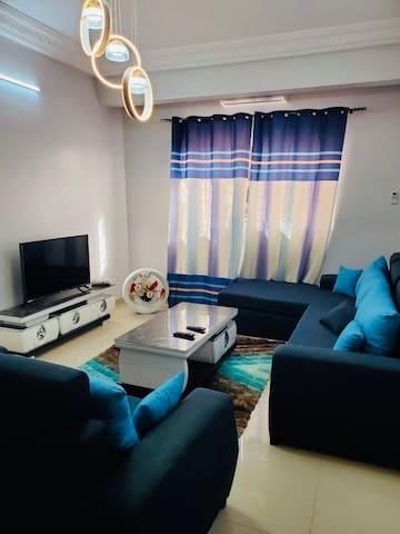 Appartement moderne meublé à Diamniadio