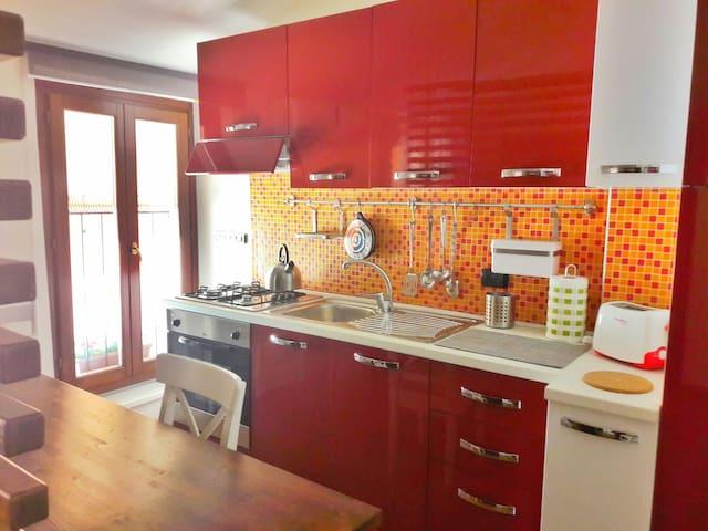 Residence 4 colori, alloggio Rosso - Reggio Emilia - Apartment