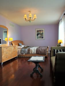 Master room/ensuite bath nearby Lake Simcoe - Barrie - Casa