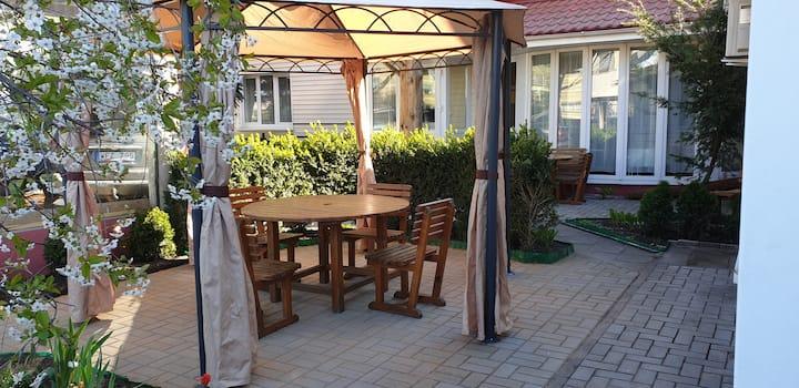 Zeliuga (No4) studio type apartment with patio