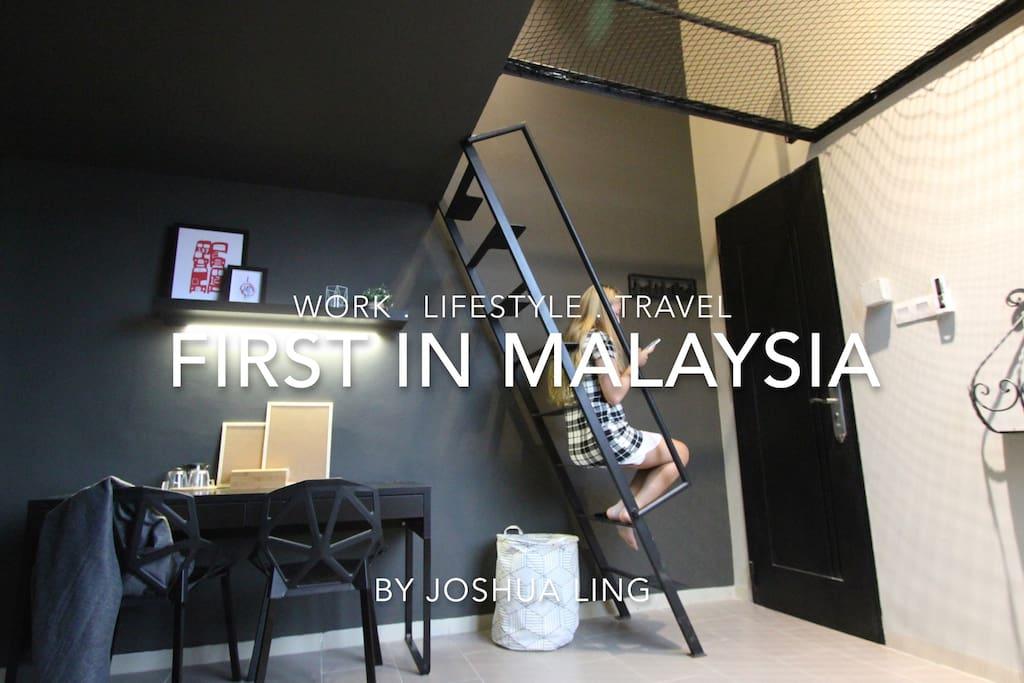 Joshua Loftstay - First in Malaysia