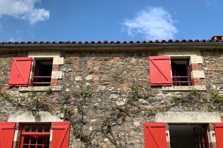 L'étage du Clos des Forges (20 min du Puy du Fou)