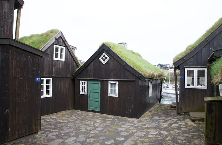 A cozy house in the old town of Tórshavn