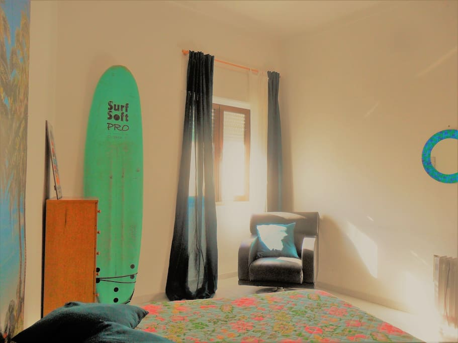 Sunny and colourful room