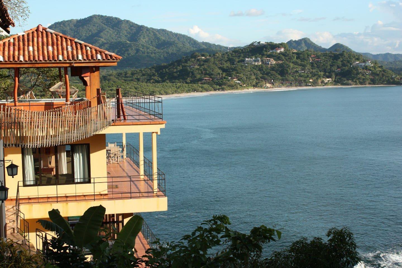 Unobstructed ocean view from the Villa Vista Del Pacific Apartment