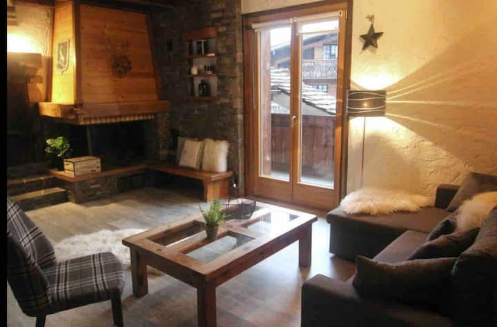 Appartement  chalet 6-8 pers. centre village