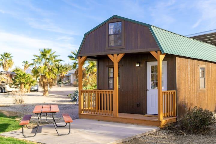 116 Rustic Cabin Camping along the Colorado River.