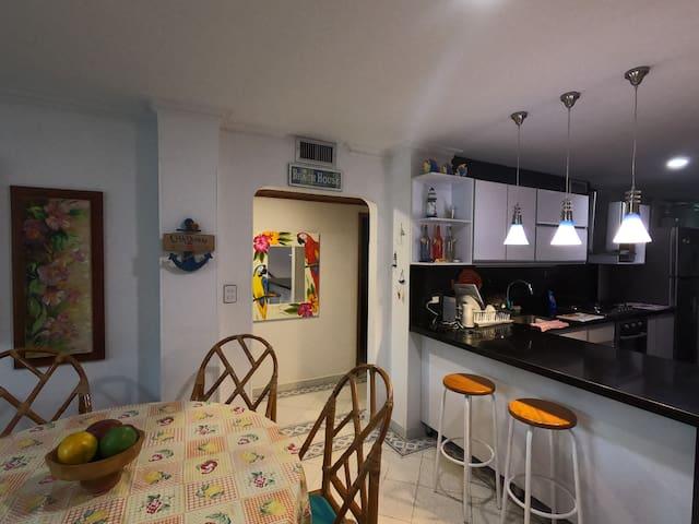 Acogedor apartamento con acceso directo a la playa