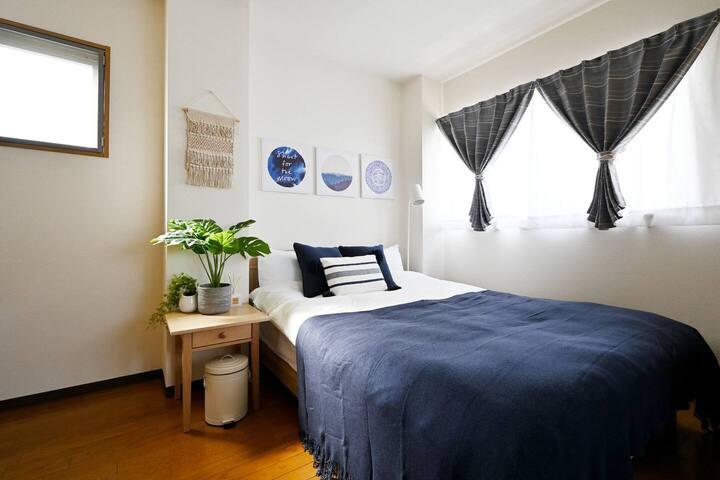 明るい部屋で滞在をお楽しみください!