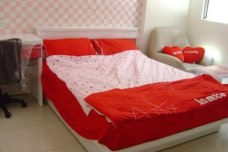 Couple Suite near Yongkang Station - Yongkang District - Lägenhet