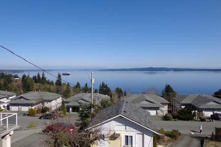 Chemainus, BC - Oceanview Cabin - Ház