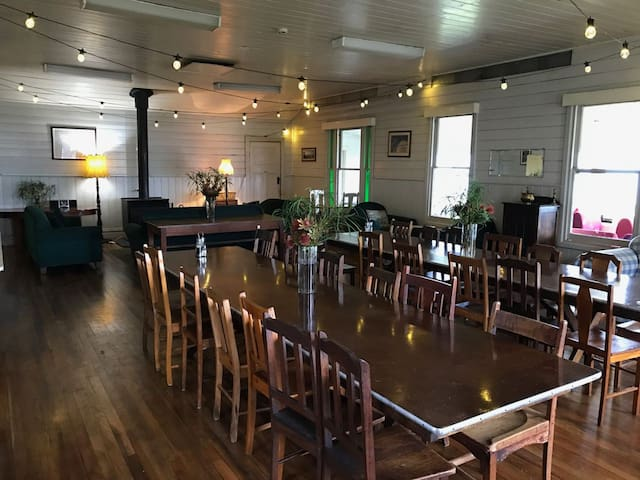 Historic lounge and dining