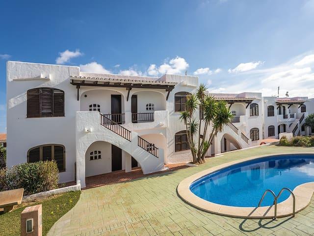 Apartamento en la playa de Son Parc, Menorca