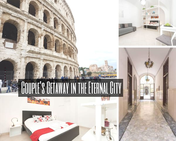Couple's Getaway n Eternal City/Coliseum n 10mins