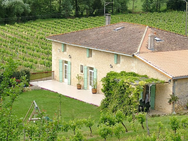 250 m² charming house in the vineyards - Saint-Pey-de-Castets - Haus