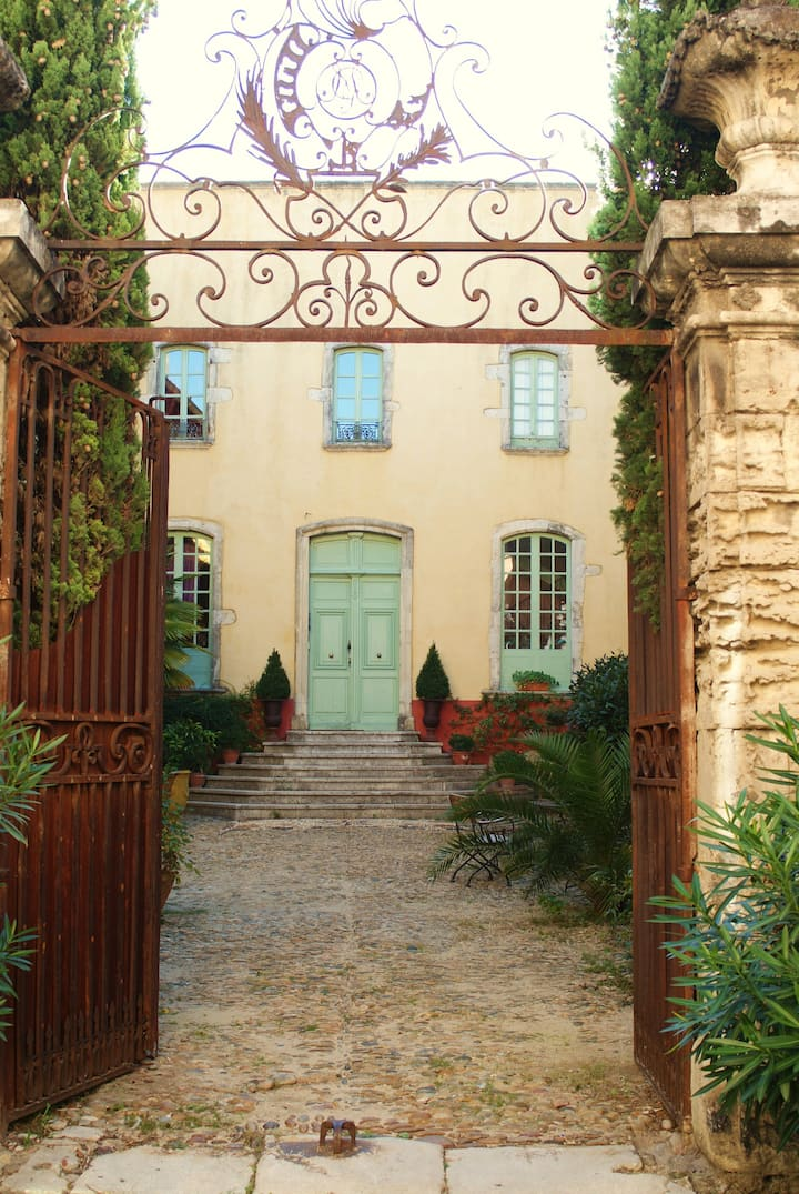 HERITAGE MANSION in south  drome-ardeche