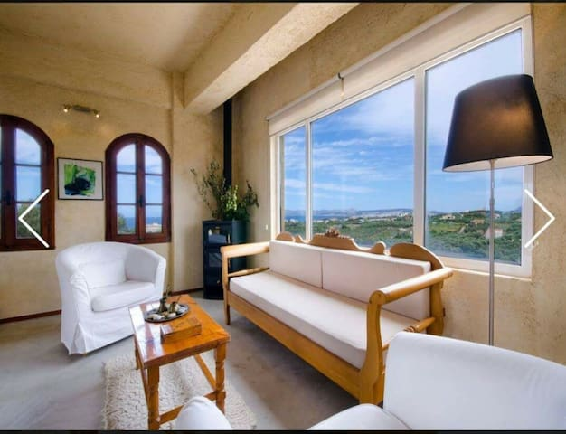 Stalos 360° View! Cozy Apartment fully equipped!