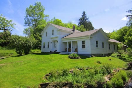 Entire 1850 Country House or 1 Room - Charlotteville - House