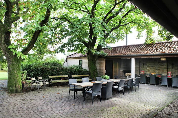 Luxurious Mansion In Asten with Garden