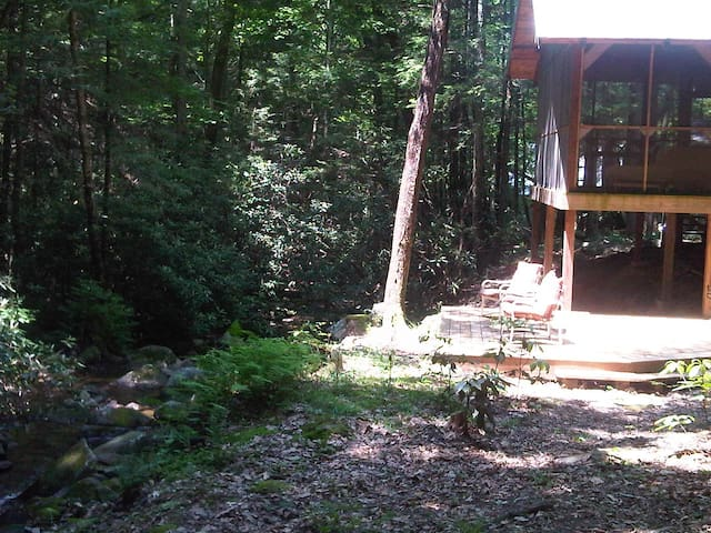 Cozy Creekfront Bungalow  - Tellico Plains