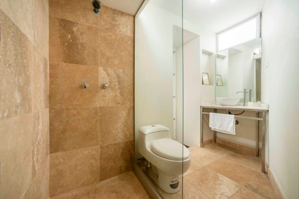 Your Marble finished Bathroom!