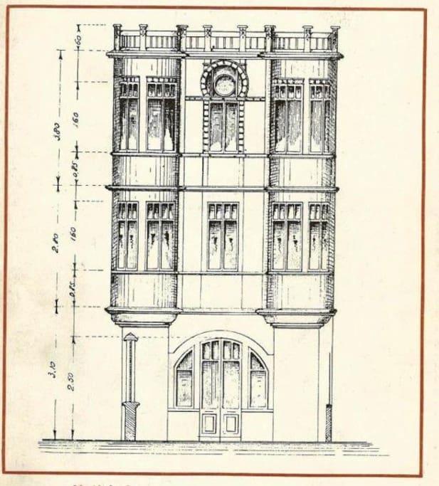 The original drawings, year 1923.