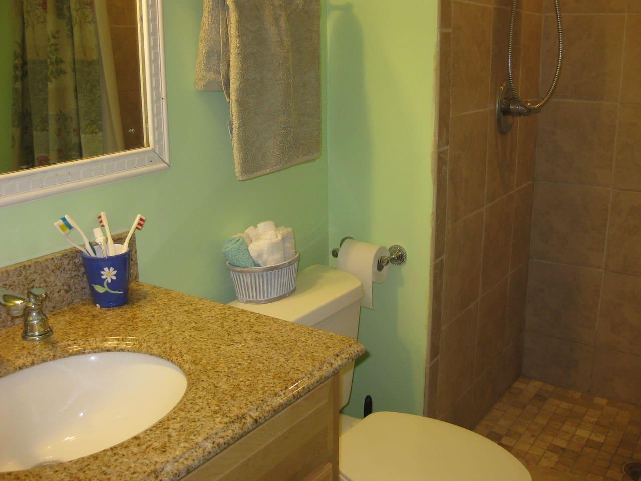suite's bath