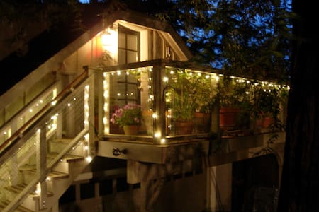 Cozy Redwood Studio in Foothills - Los Gatos