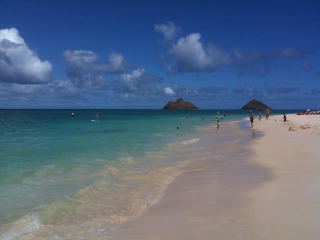 Lanikai Beach, Oahu 2 bdrm, 2 bath