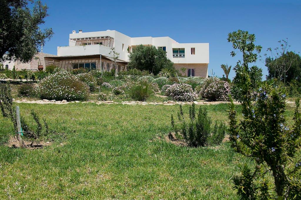 Agr able maison d 39 h tes et piscine chambres d 39 h tes for Essaouira chambre d hote