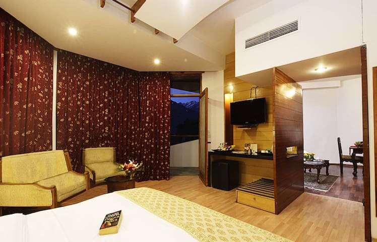 Deluxe Suite@ ManuAllaya Resort, Manali