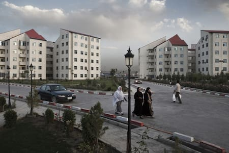 Shahrak Aria, a save and beautiful place in kabul - Apartment