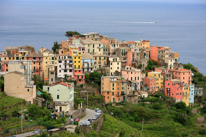 Our B&B is in the heart of Corniglia