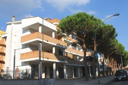 Confortable apt, grand terrasse/bbq - Lido - Lägenhet