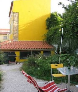 Yellow house - Double room - Lisabon - Byt