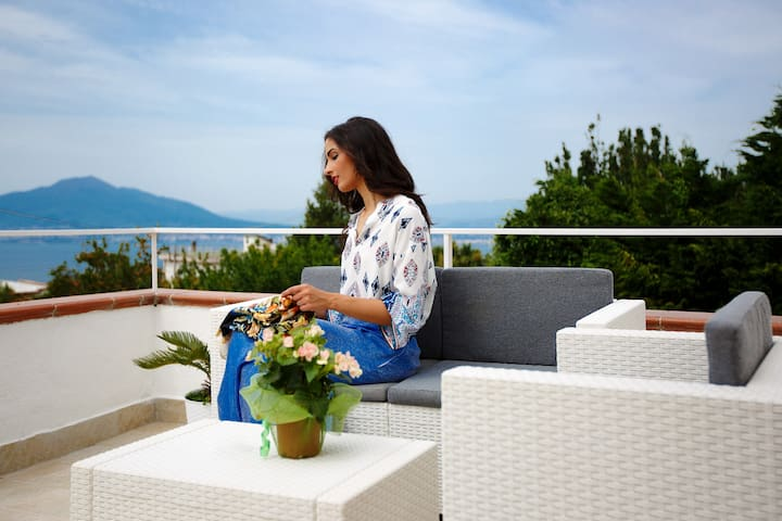 B&B VillaRaf - 2 Camere con terrazza vista mare - Montechiaro - Bed & Breakfast